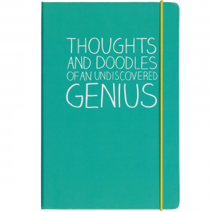 Happy Jackson A5 Thoughts And Doodles Notebook