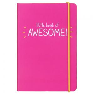 Happy Jackson A6 Little Book of Awesome Notebook Pink