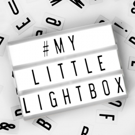 A5 Black Cinematic Lightbox