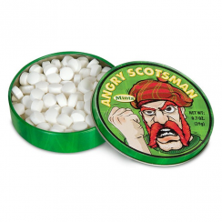 Angry Scotsman Mints in Tin