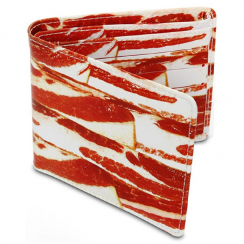 Bacon Wallet (Meaty Design)