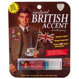 British Accent Breath Spray