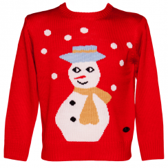 Crazy Granny, Unisex Sid the Snowman Christmas Jumper