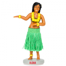 Hawaiian Dashboard Hula Girl