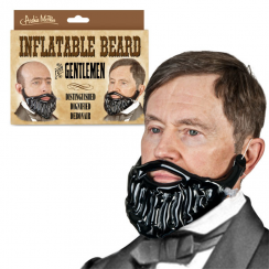 Inflatable Beard for a Gentleman
