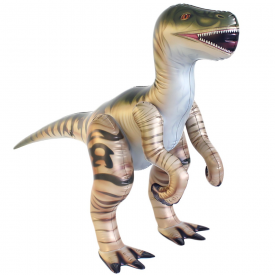 Inflatable Velociraptor Raptor 4 ft 3 in Long