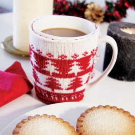 Knitted Christmas Jumper Mug