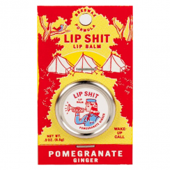 Lip Shit, Pomegranate Ginger