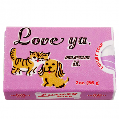 Love Ya, Mean It Luxury Soap