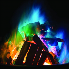 Mystical Coloured Fire Dust, Pack of 10