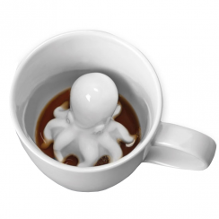 Octopus Porcelain Surprise Mug