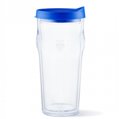 Pint2go Portable Beer Glass in Blue