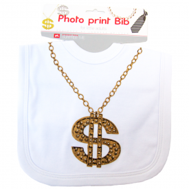 Present Time Bling Baby Bib