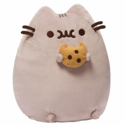 Pusheen Soft Toy with Cookie