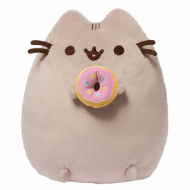 Pusheen Soft Toy with Donut