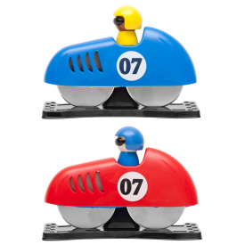 Race Car Pit Stop Pizza Cutter, Mixed Colours