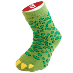 Silly Slipper Children's Socks, Crocodile