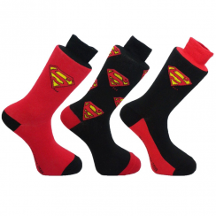 Superman Socks Gift Set
