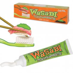 Wasabi Toothpaste, Ideal for Sushi Fans