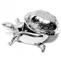 Turtle Box in Chrome