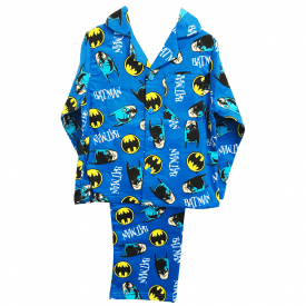 Batman Flannelette Pyjamas 3 to 10 Years