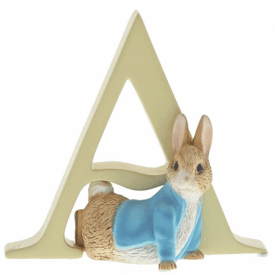 Alphabet Letter A Peter Rabbit Figurine