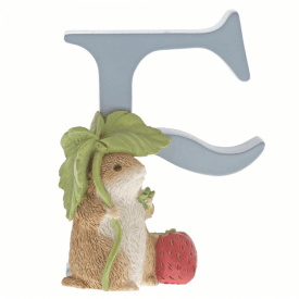 Alphabet Letter F Timmy Willie Figurine