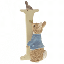 Alphabet Letter I Peter Rabbit Figurine