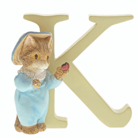 Alphabet Letter K Tom Kitten Figurine