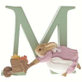 Alphabet Letter M Cecily Parsley Figurine
