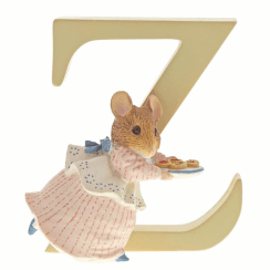 Alphabet Letter Z Appley Dapply Figurine