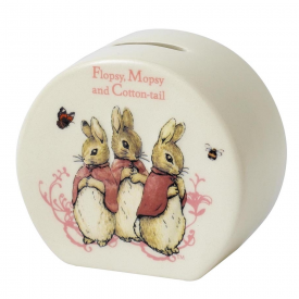 Flopsy, Mopsy & Cotton-tail Money Bank