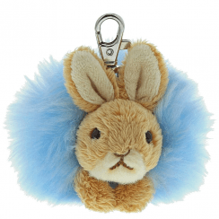 Peter Rabbit Pom Pom Keyring