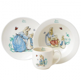 Peter Rabbit Three-Piece Nursery Set