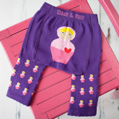 Babushka Doll Children's Leggings