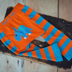 Blue Dinosaur Children's Leggings