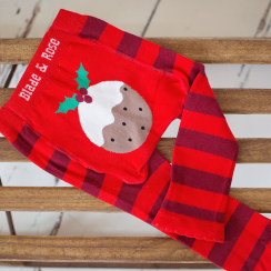 Christmas Pudding Children's Leggings