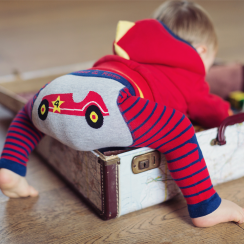 Classic Car Baby Leggings