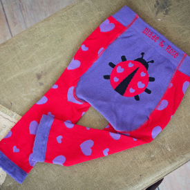 Ladybird Children's Heart Leggings