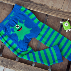 Monster Stripy Children's Leggings