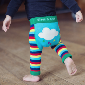 Multi-coloured Rainbow Baby Leggings