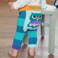 Oheo Owl Baby Leggings