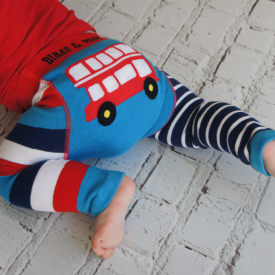 Red London Bus Leggings