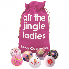 All The Jingle Ladies Bath Bomb Gift Set