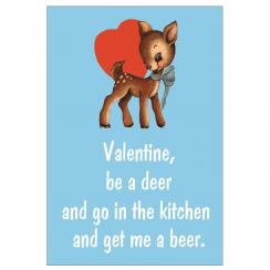 Be a Deer & Get me a Beer Card