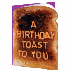 Birthday Toast Birthday Card
