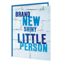 Brand New Little Boy Card