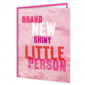 Brand New Little Girl Card