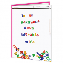 Gorgeous Sexy Wife Fridge Card