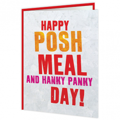 Hanky Panky Greetings Card